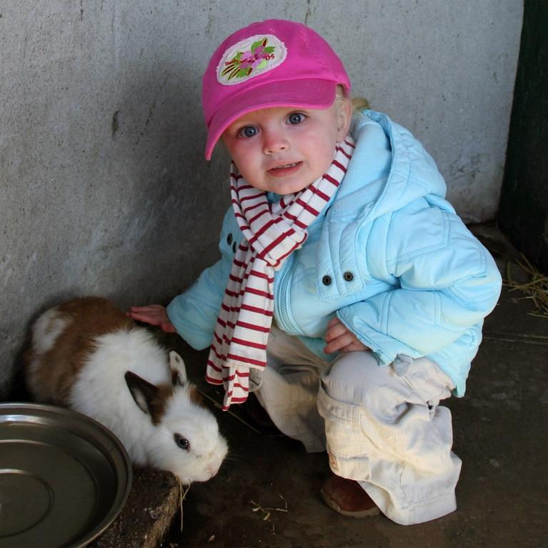 """photo """"Follow the rabbit"""" tags: portrait, children"""