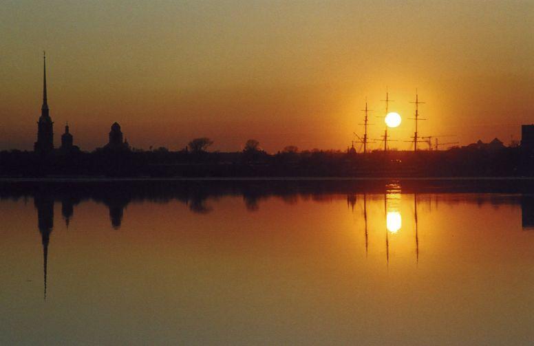 "фото ""***"" метки: пейзаж, закат"