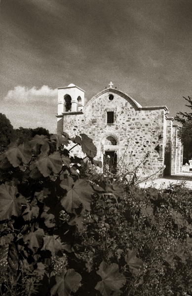 "photo ""Ahelia Church,Paphos"" tags: architecture, landscape,"