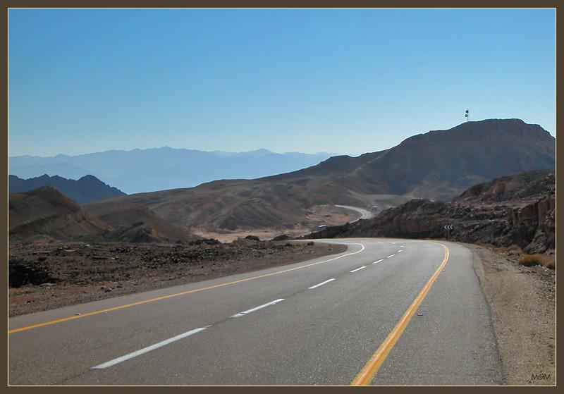 "photo ""Arraba Desert road"" tags: landscape,"