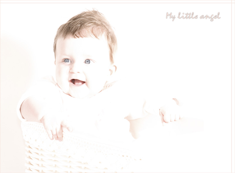 "photo ""My little angel"" tags: portrait, children"