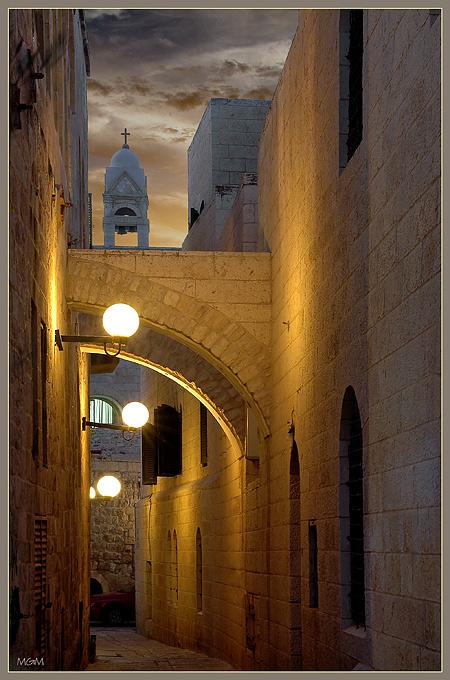 """photo """"Jerusalem"""" tags: architecture, landscape,"""