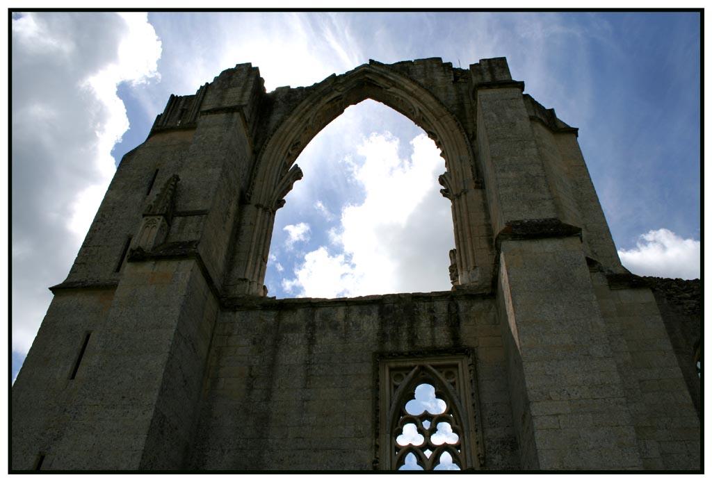 "photo ""Maillezais Abbey"" tags: ,"