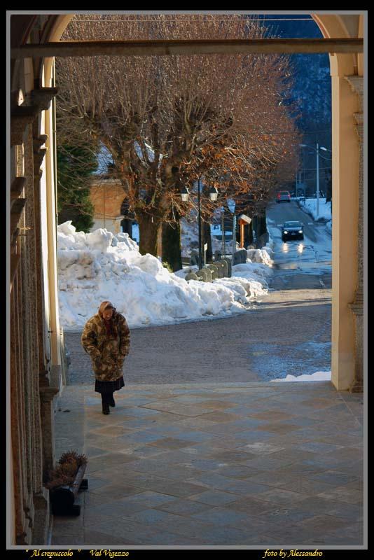"""photo """"al crepuscolo"""" tags: landscape, mountains"""