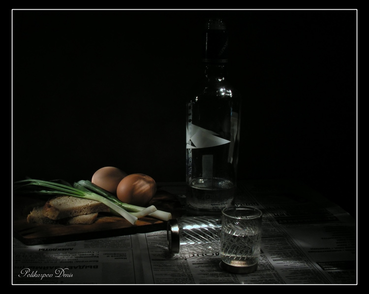 "photo ""Vodka still life"" tags: still life,"