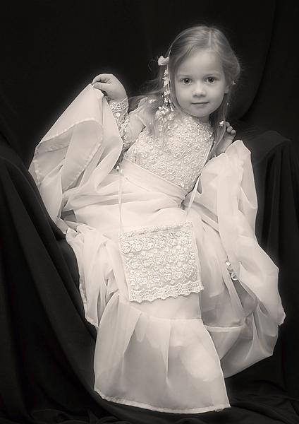 """фото """"Её Величество..."""" метки: портрет, гламур, дети"""