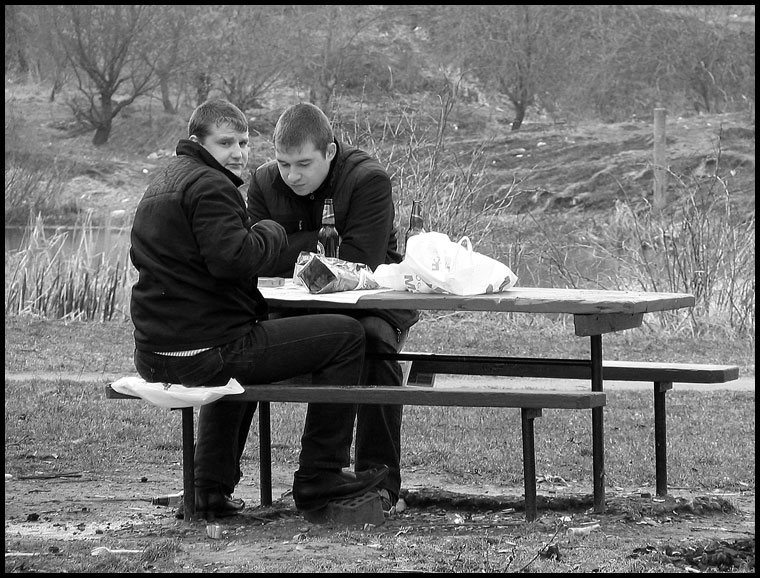 "photo ""We with you together shall sit..."" tags: genre, black&white,"