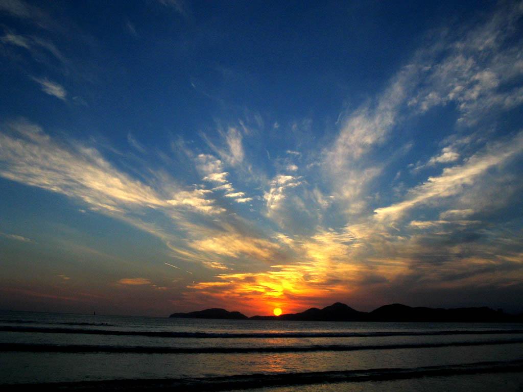 """фото """"Sunset #01"""" метки: пейзаж, закат"""