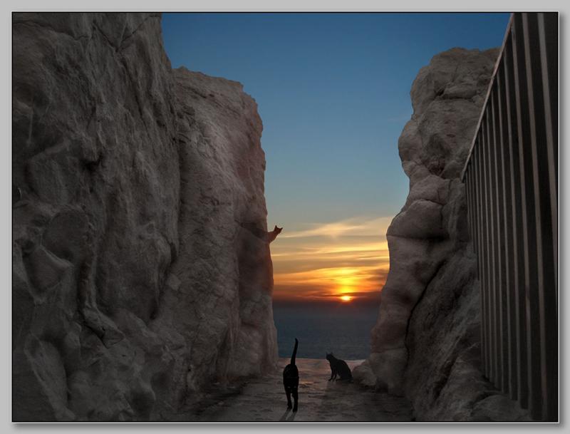 "photo ""***"" tags: travel, landscape, Europe, sunset"