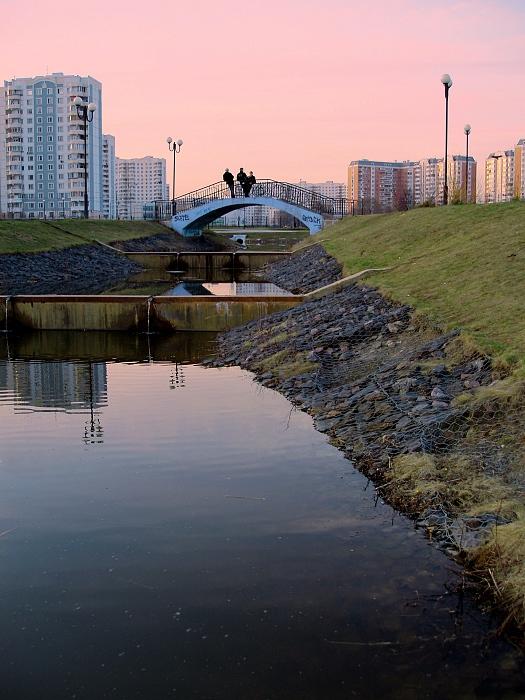 """фото """"Вечерний разговор"""" метки: архитектура, пейзаж, весна"""