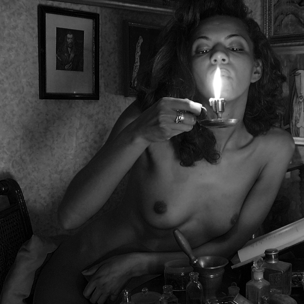 "photo ""***"" tags: nude, black&white,"