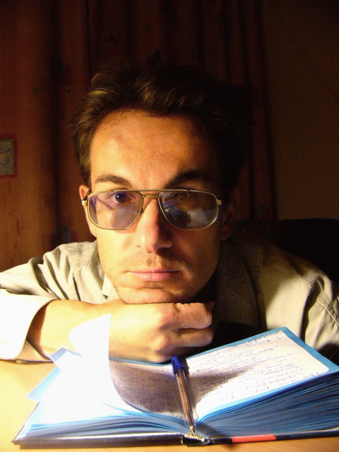 "photo ""Writer"" tags: genre, portrait, man"