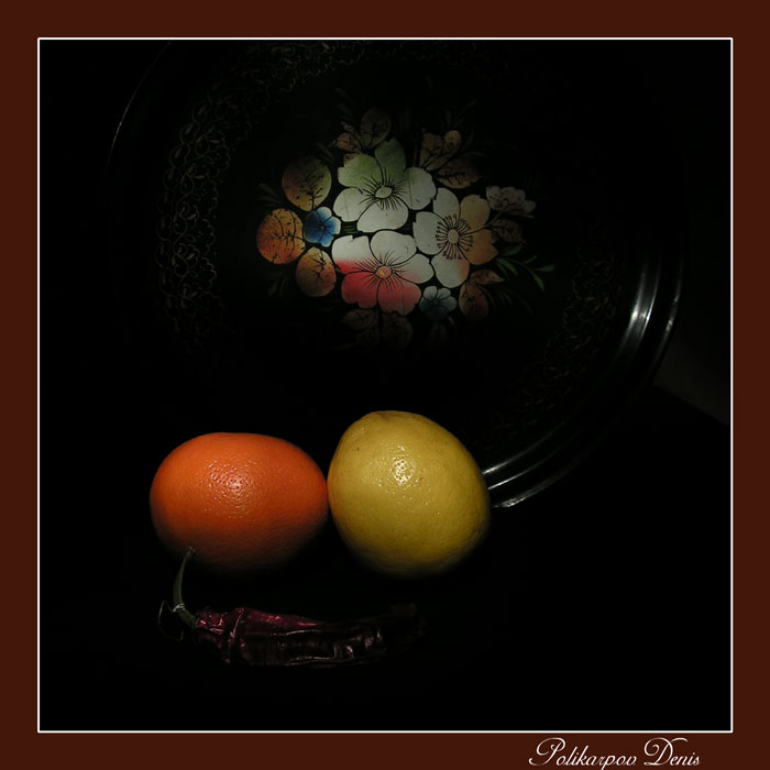 "photo ""Limon vs Orange"" tags: still life,"