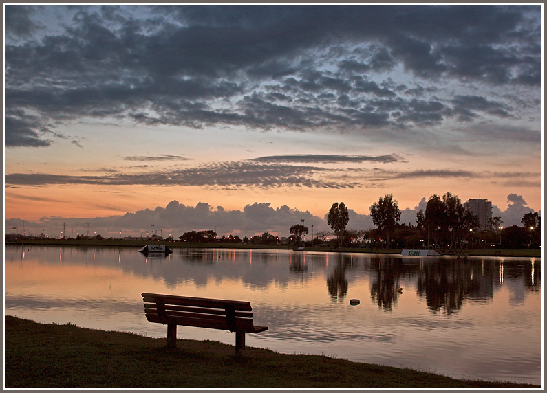 "photo ""Twilight 2"" tags: landscape, sunset"