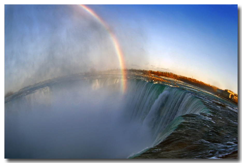 "photo ""Rainbow"" tags: landscape, travel, North America, water"