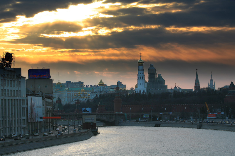 "фото ""Всполохи заката"" метки: архитектура, пейзаж, закат"
