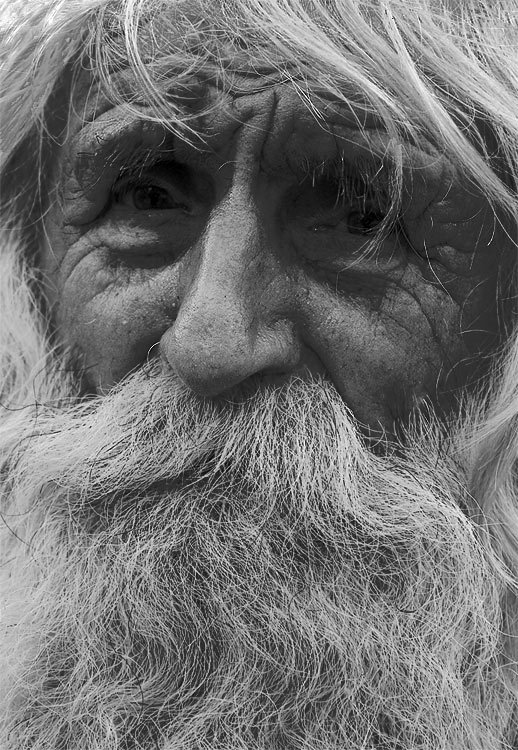 "photo ""Portrait old man"" tags: portrait, man"