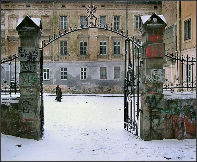 "фото ""Sic tranzit..."" метки: архитектура, пейзаж, зима"