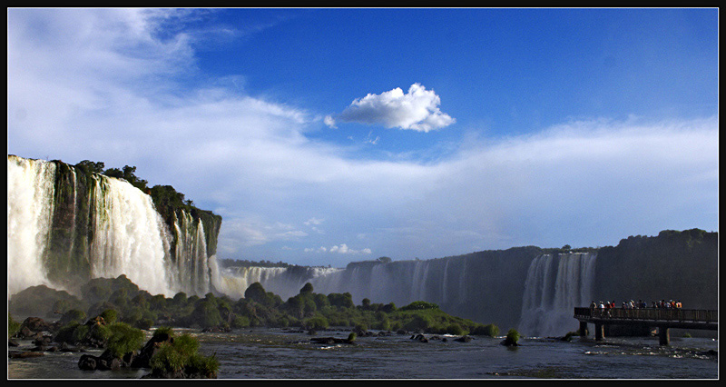"photo ""Iguazu IV"" tags: landscape, travel, South America, water"