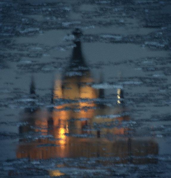 """фото """"Град Китеж"""" метки: абстракция,"""