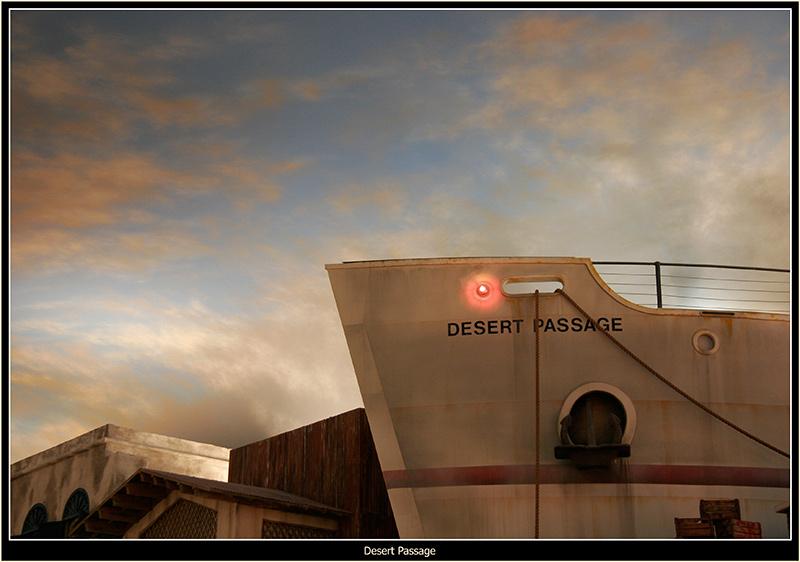 "photo ""Desert Passage"" tags: architecture, travel, landscape, North America"