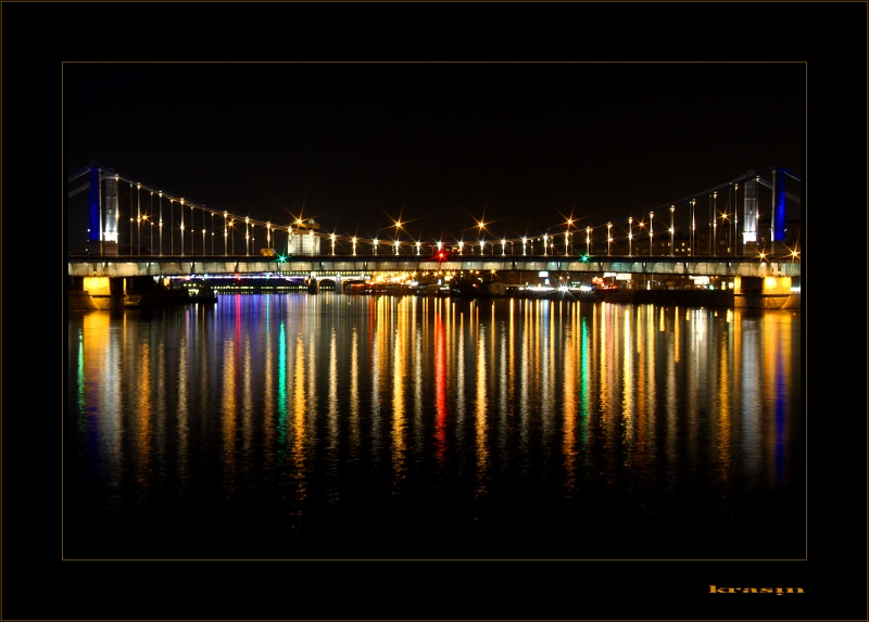 "photo ""Color of night"" tags: architecture, landscape, night"