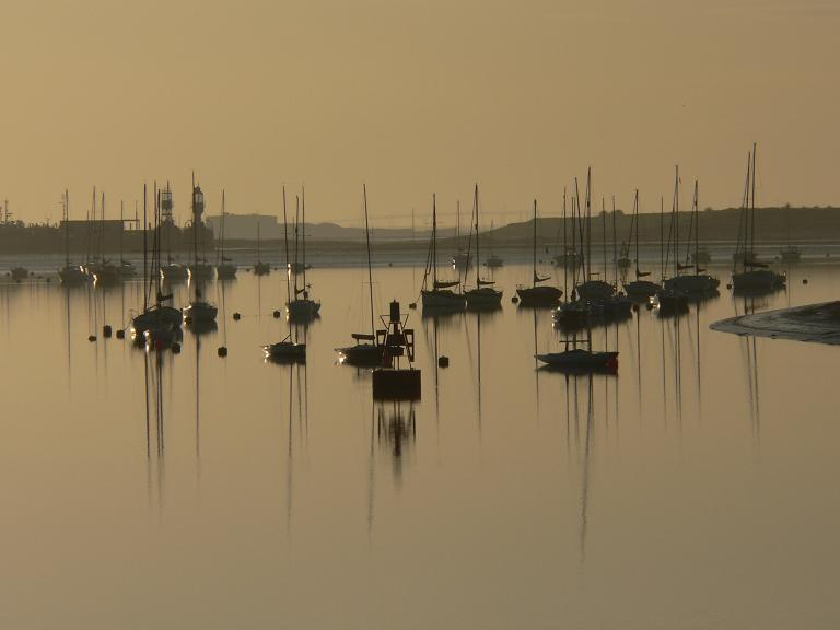 "photo ""Yachts at Dawn"" tags: landscape, sunset, water"
