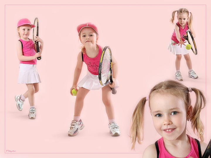 "фото ""Дарёнка: спортсменка, красавица"" метки: портрет, спорт, дети"
