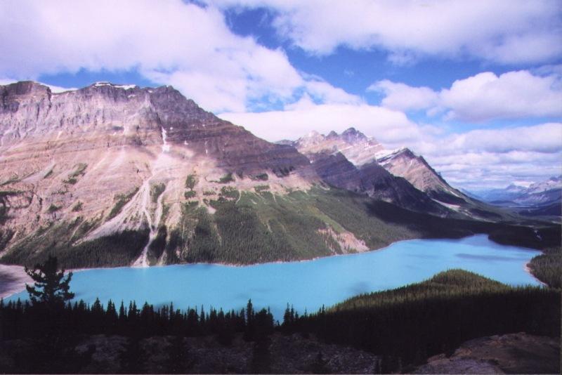 "photo ""Peyto Lake"" tags: landscape, mountains"
