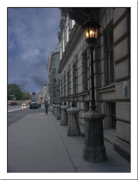 "photo ""Renweg, Vienna"" tags: architecture, travel, landscape, Europe"