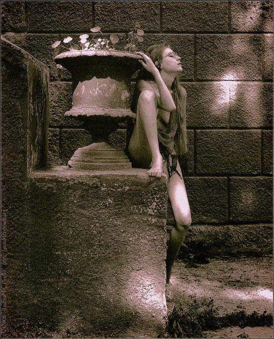 "photo ""ПРЕДЧУВСТВИЕ ИНЕТА: Муза Посетила"" tags: nude, glamour,"