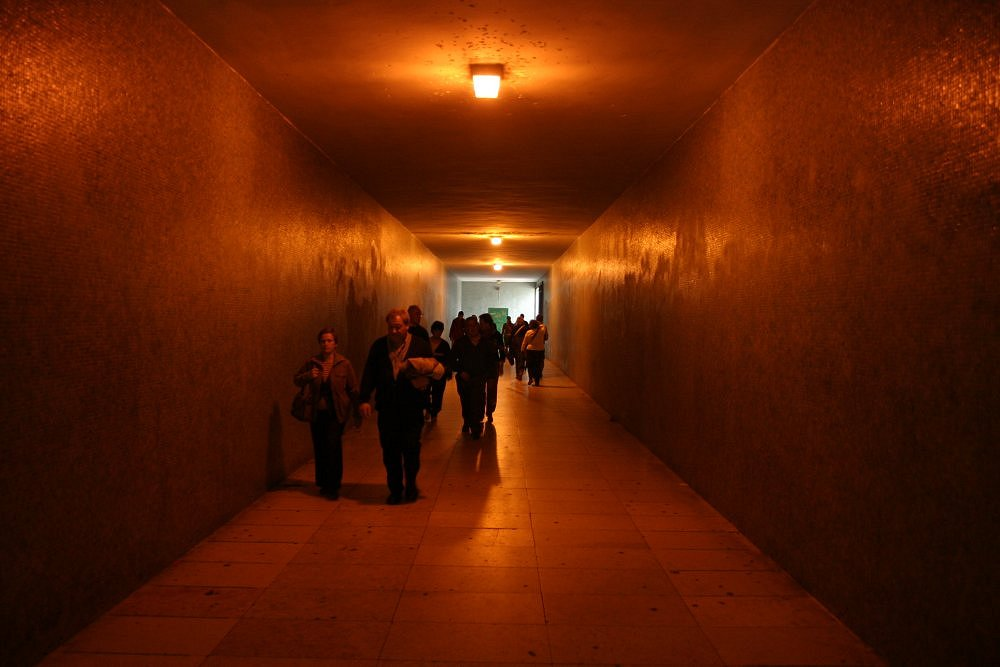 "photo ""The tunnel"" tags: interior,"