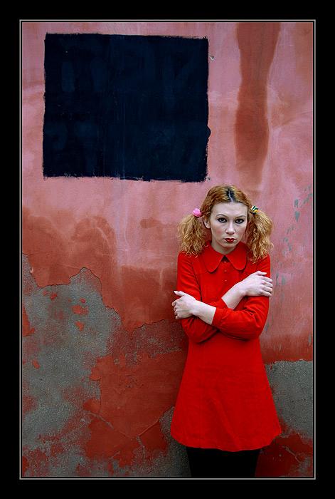 """фото """"Черный  Квадрат"""" метки: портрет, жанр, женщина"""