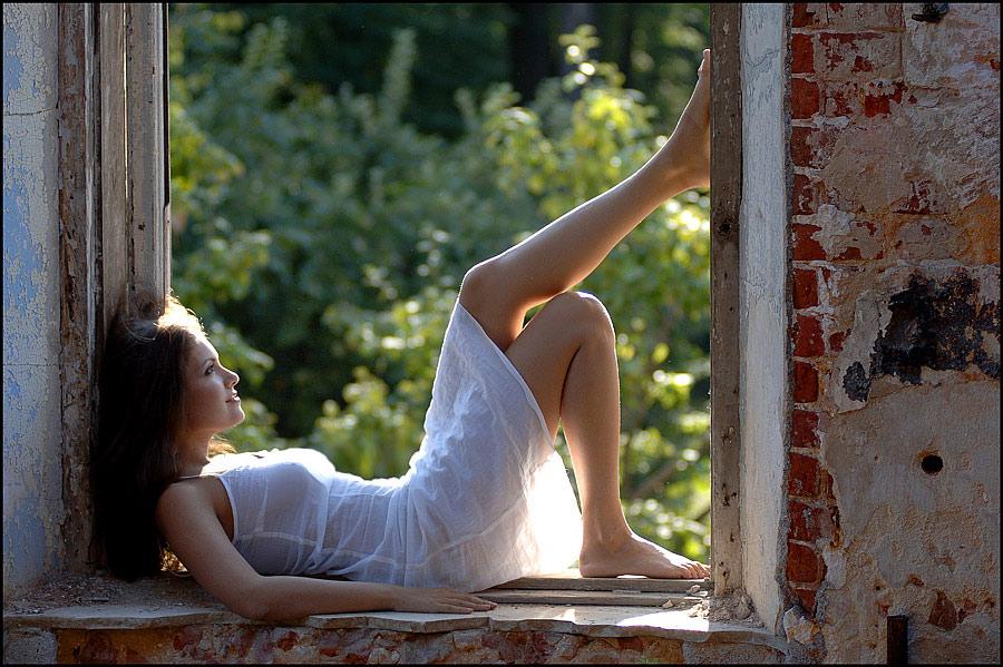 """фото """"Летняя..."""" метки: портрет, жанр, женщина"""
