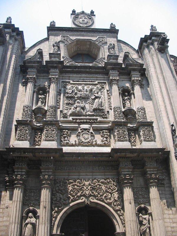 """photo """"Iglesia"""" tags: architecture, travel, landscape, North America"""