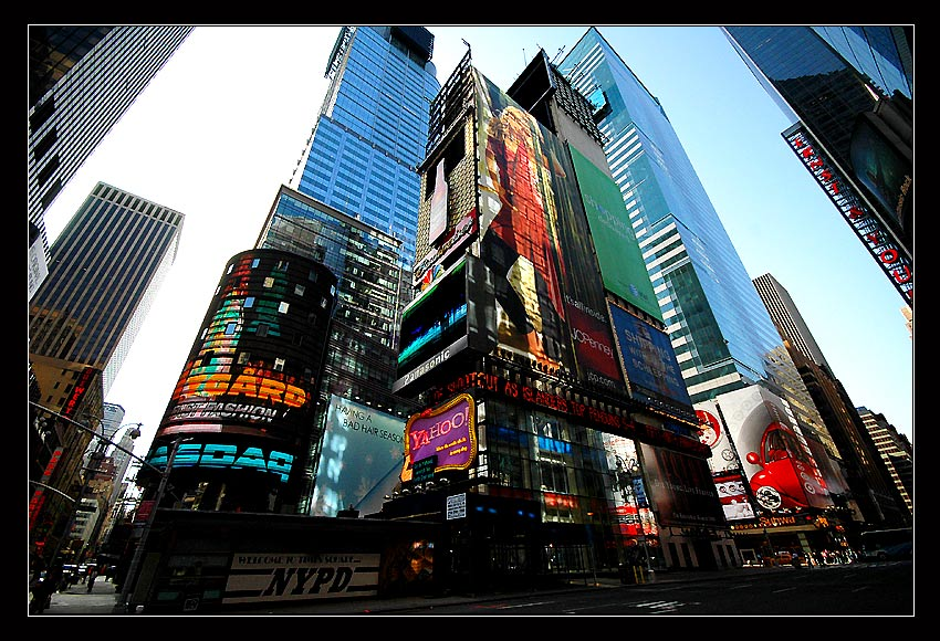"photo ""New Yourk Time Square"" tags: ,"