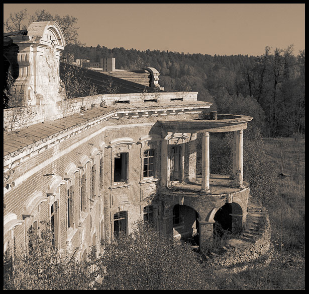 "photo ""On count ruins 2"" tags: architecture, landscape,"