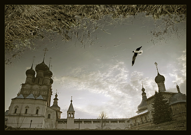 "photo ""traveller notes - rostov"" tags: architecture, landscape, water"