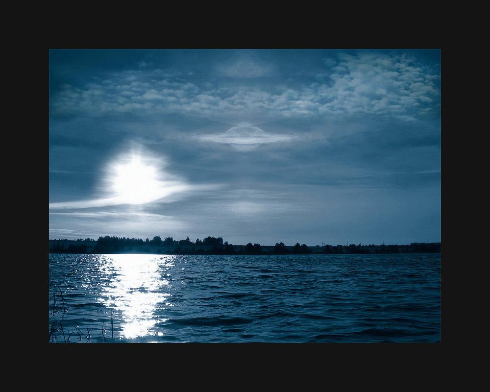 """фото """"НЛО"""" метки: фотомонтаж, пейзаж,"""