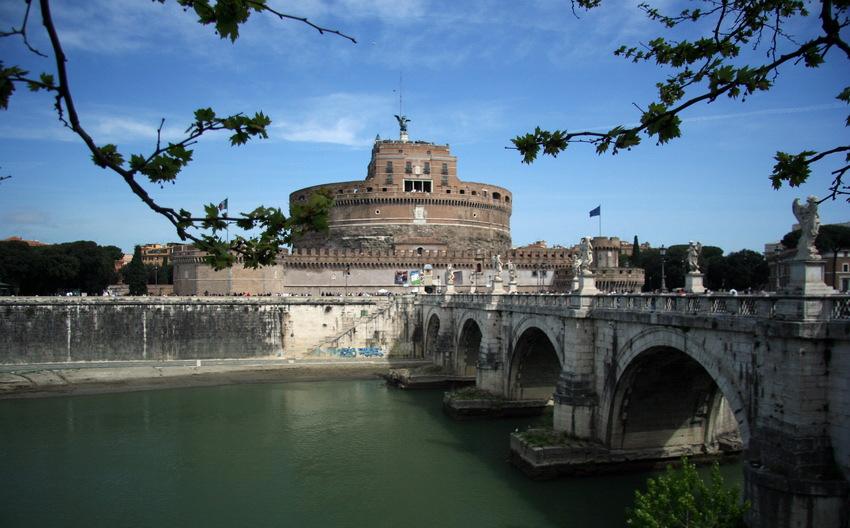 "фото ""Castle SantAgelo (Rome)"" метки: пейзаж, путешествия, Европа"