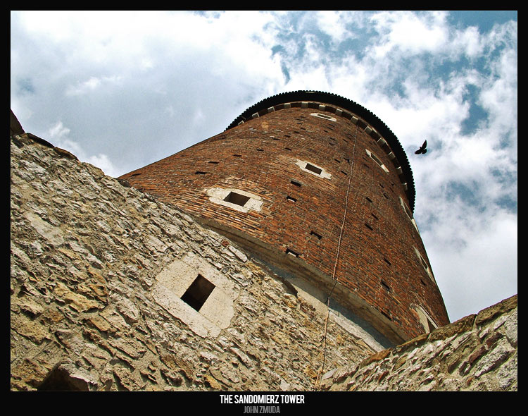 "photo ""Sandomierz Tower"" tags: architecture, travel, landscape, Europe"