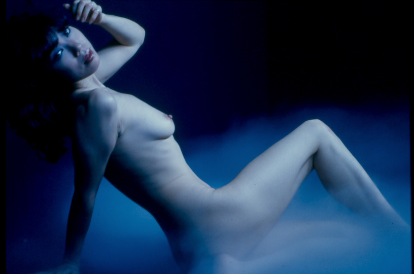 "photo ""Blue Nue"" tags: nude, glamour,"