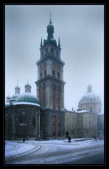"photo ""The Lvov covered by a snow # 2"" tags: ,"