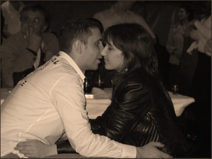 """photo """"Intermezzo for a kiss"""" tags: portrait,"""