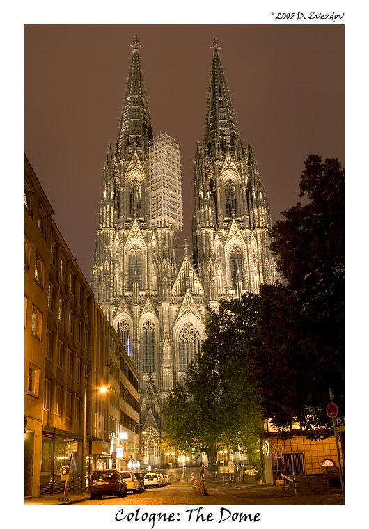 "photo ""Cologne - The Dome"" tags: travel, architecture, landscape, Europe"
