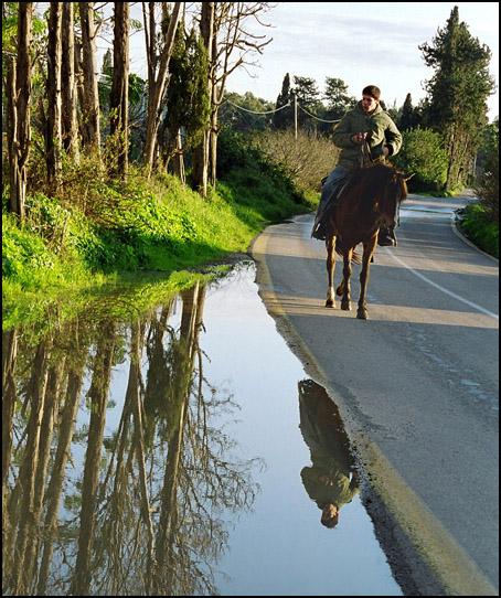 "photo ""Horseman"" tags: misc.,"