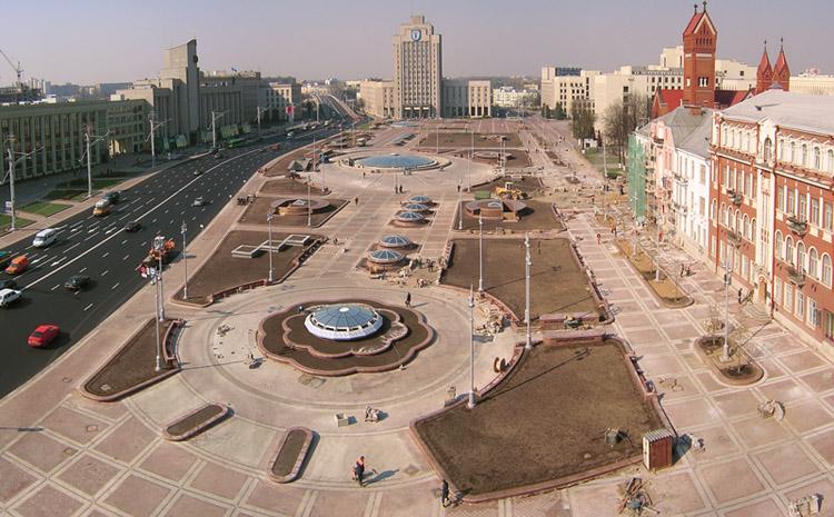 """фото """"Плошча Незалежнасти (Минск)"""" метки: архитектура, пейзаж,"""