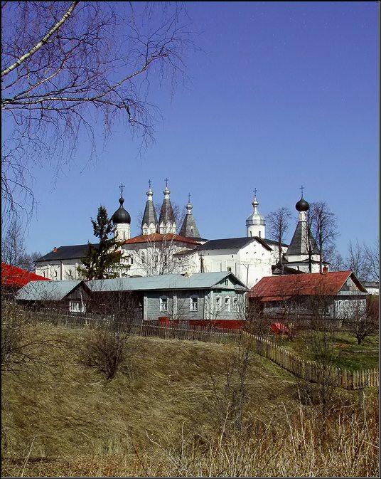 "photo ""Village Ferapontovo"" tags: architecture, landscape,"