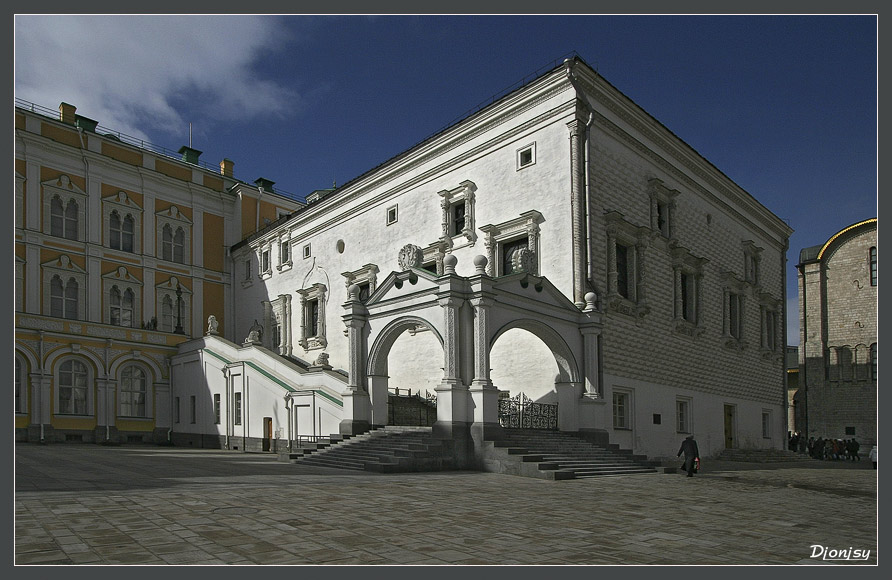 "фото ""Грановитая палата"" метки: архитектура, пейзаж,"