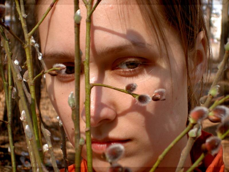"""photo """"***"""" tags: portrait, landscape, spring, woman"""
